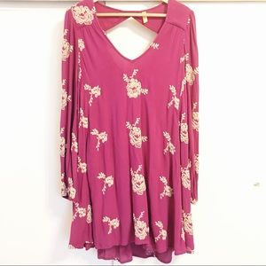 Free People embroidered dress/tunic